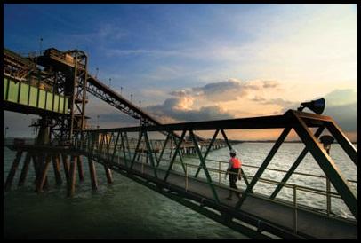 Bontang Terminal, East Kalimantan frame